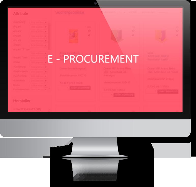 Elektronisches Beschaffungsmanagement - Komplettlösungen für die operative Beschaffung, Home